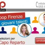 Unicoop, selezione per 50 allievi capo reparto